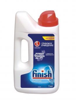 Finish Средство для мытья посуды в посудомоечных машинах порошок 1кг